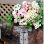 bouquet-flowers-pink-white-orange-labola