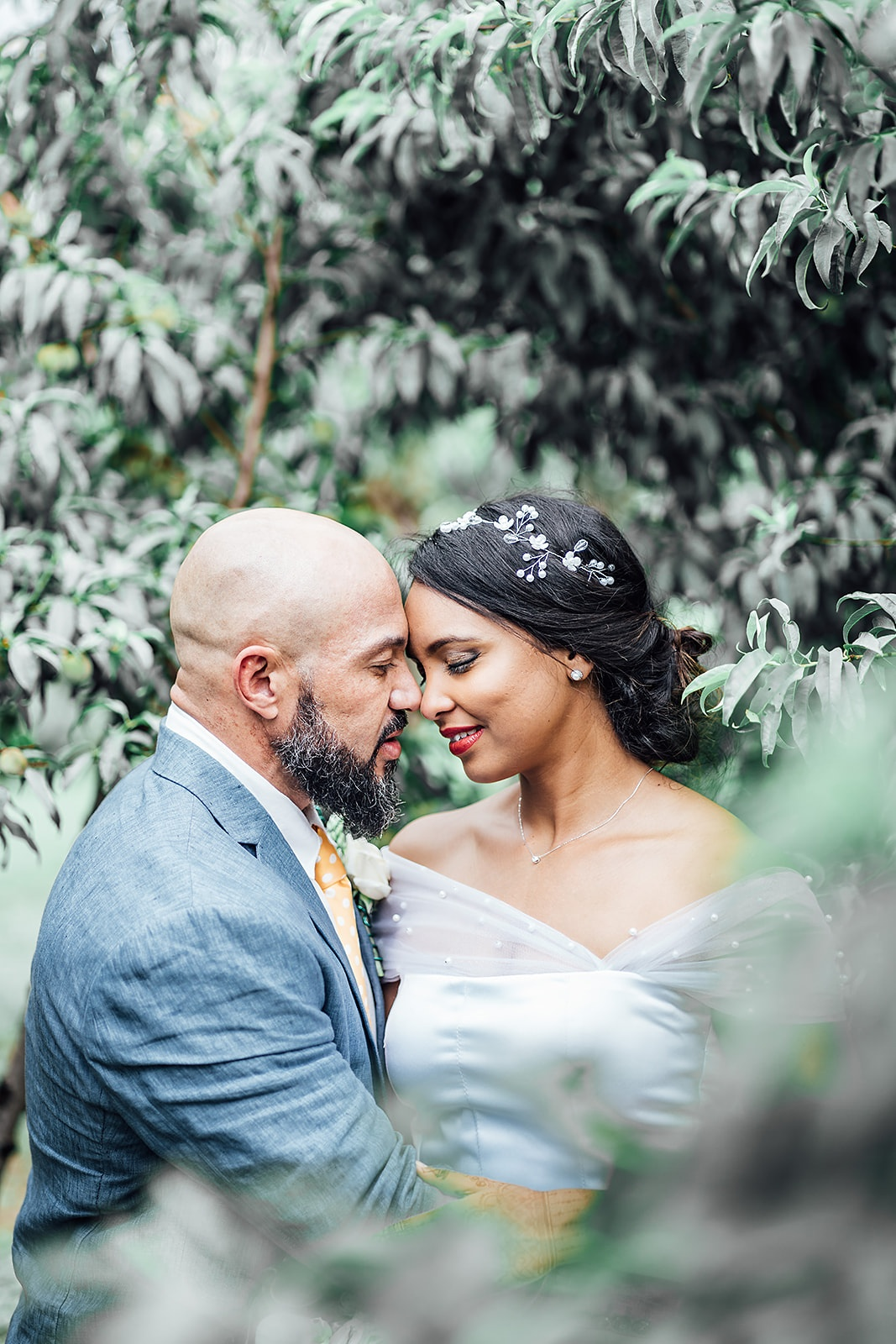 bride-groom-hugs-trees