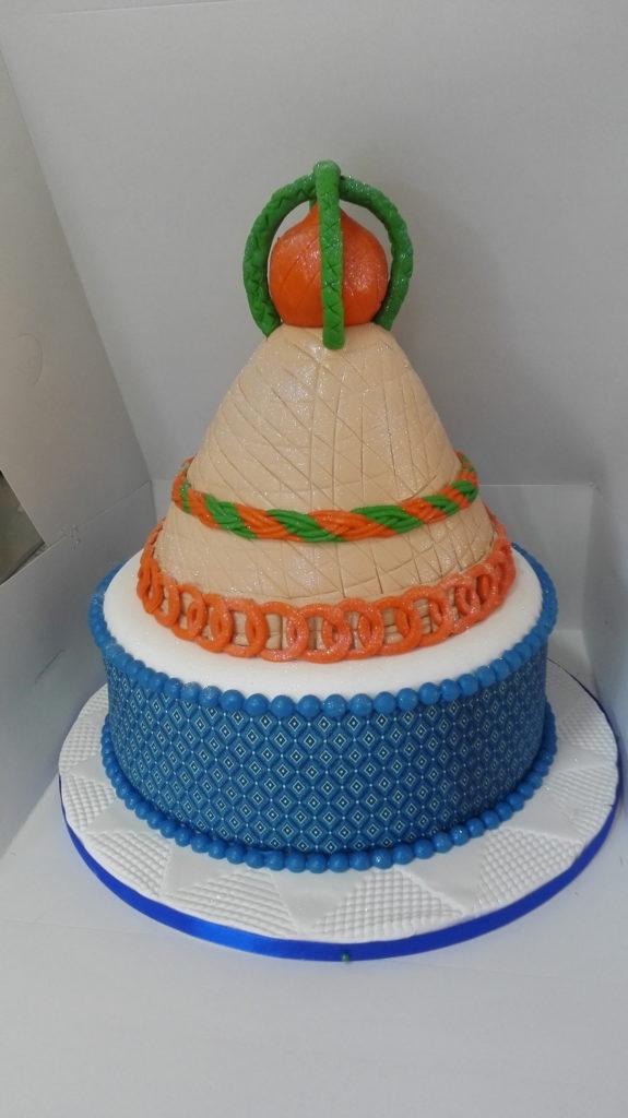 cake-blue-orange-green